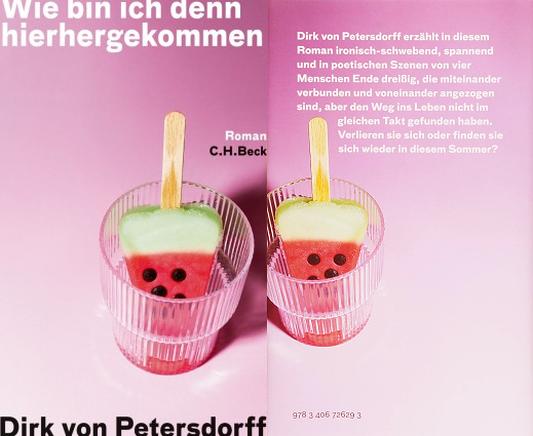 Buchcover - Petersdorff - Wie bin ich denn hierhergekommen - Abbildung © Verlag CHBeck