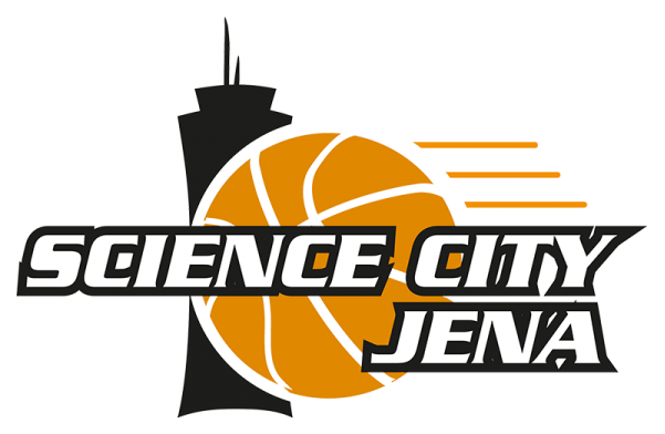 Das Science City Jena Baskets Logo - Bildrechte Science City Jena