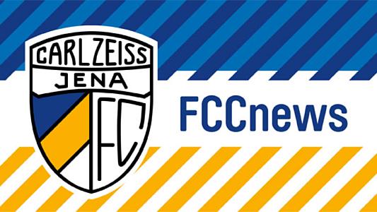 FCC News Logo - Bildrechte FC Carl Zeiss Jena