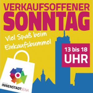 Initiative Innenstadt Jena - Verkaufsoffener Sonntag Teaser
