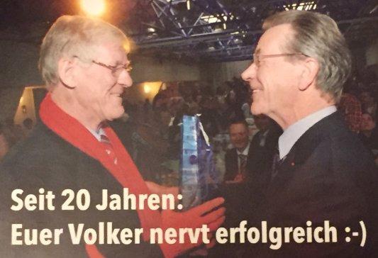 Postkarte Volker Blumentritt
