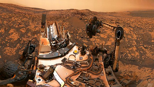 The panorama was taken on Aug. 9th 2018 by the Curiosity rover at its location on Vera Rubin Ridge.. - Foto © NASA JPL-Caltech-MSSS