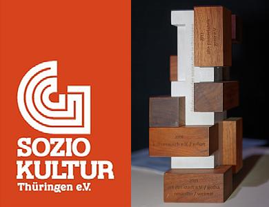 LAG Soziokultur Thüringen - KULTURRIESE Logo