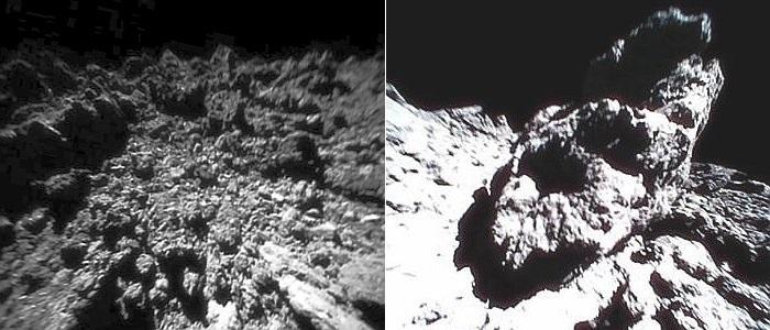 So sieht es auf Asteroid Ryugu aus. - Foto © JAXA
