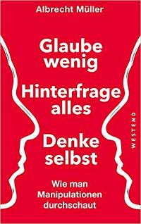 Das Cover des Buchs von Albrecht Müller