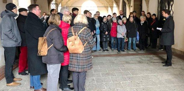 Auch in Jena wurde den Opfern der nationalsozialistischen Gewaltherrschaft gedacht. - Foto Stadt Jena Kristian Philler