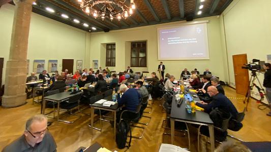 Sitzung des Jenaer Stadtrats am 22.01.2020. - Bildrechte Radio Jena