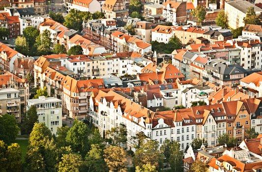 Wohnungen sind heiß begehrt in Jena. – Foto © Stadt Jena Jens Hauspurg
