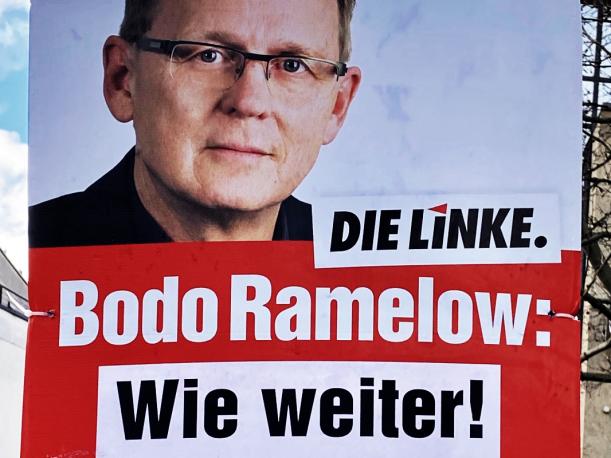 Bodo Ramelow - Wie Weiter Plakatausschnitt
