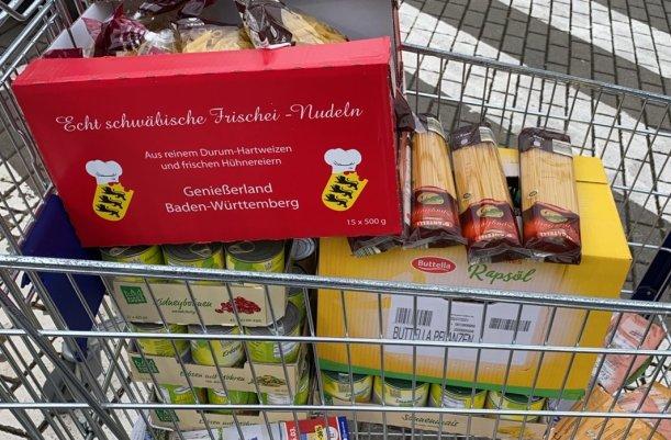 Derzeit kommt es verstärkt zu Großeinkäufen haltbarer Lebensmittel. - Foto MediaPool Jena