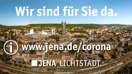 Stadt Jena - Wir sind für Sie da - Tafel
