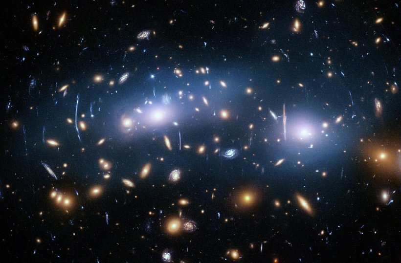 This image from the Hubble Space Telescope shows the galaxy cluster MACS J0416. The Hubble Frontier Fields program produced the deepest images of gravitational lensing ever made.- Credits NASA, ESA and M. Montes University of New South Wales