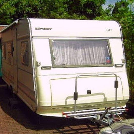 17 TAGE EUROPA - Bürstner City Wohnwagen