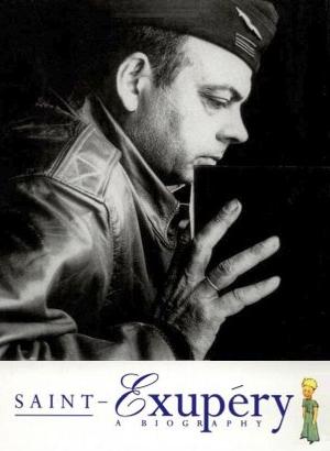 17 TAGE EUROPA - Bucheinband von Saint-Exupery – A Biography von Stacy Schiff – Erschienen 1994 bei Chatto & Windus