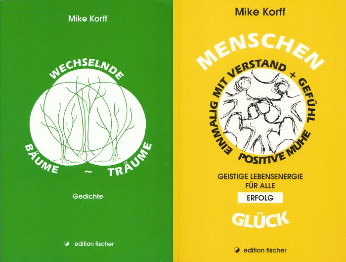 17 TAGE EUROPA - Mike Korff - Wechselnde Bäume-Träume - Menschen-Glück - Buchcover 01.08.2002