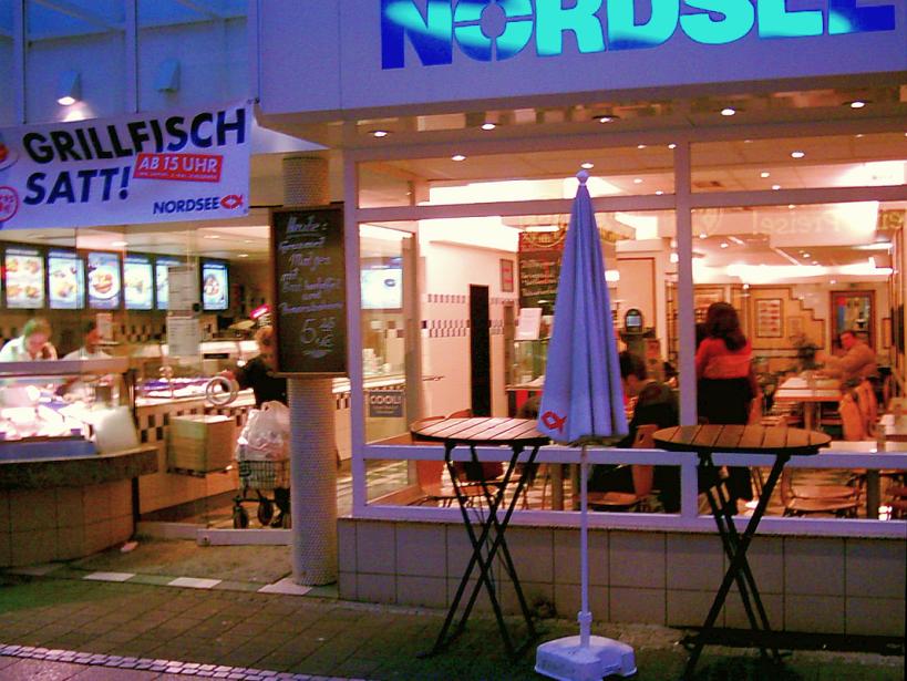 17 TAGE EUROPA - Nordsee Restaurant im Jahre 2002