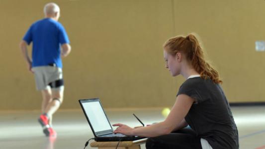 Das Angebot verbindet Wissen aus unterschiedlichen Diszplinen wie z. B. der Sportwissenschaft. - Foto FSU Jena Jan-Peter Kasper