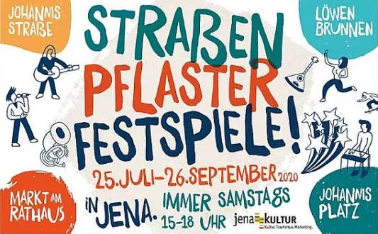 Der STRASSEN-PFLASTER-FESTSPIELE Teaser