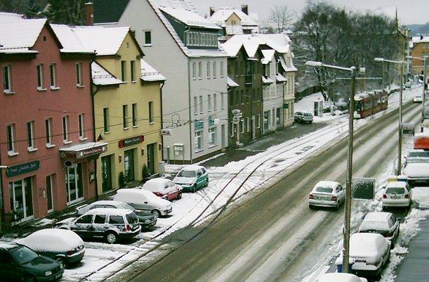 Die Karl-Liebknecht-Straße im Jahre 2002 - Foto © MediaPool Jena