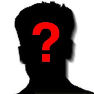 Unbekannter Mann - Symbolbild © MediaPool Jena