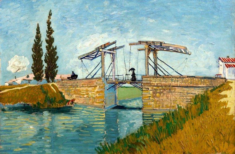 Vincent van Gogh Die Zugbrücke bei Arles 1888. - Foto © Wallraf-Richartz-Museum, Rheinisches Bildarchiv Köln