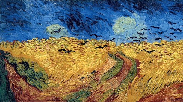 Vincent van Gogh Weizenfeld mit Krähen 1890. - Foto © Van Gogh Museum Amsterdam