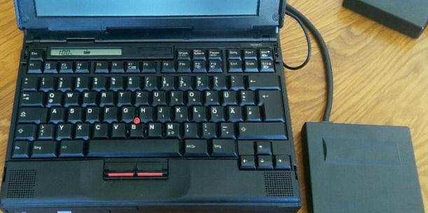 17 TAGE EUROPA - Der IBM 760E Laptop von 2002
