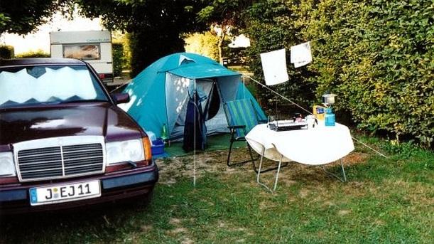 17 TAGE EUROPA - Mercedes 300E und Reisezeit in Chalon-sur-Saône 28.08.2002