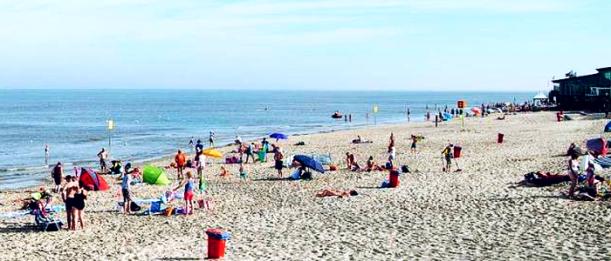 Groote Keeten; Der Strand im August 2002